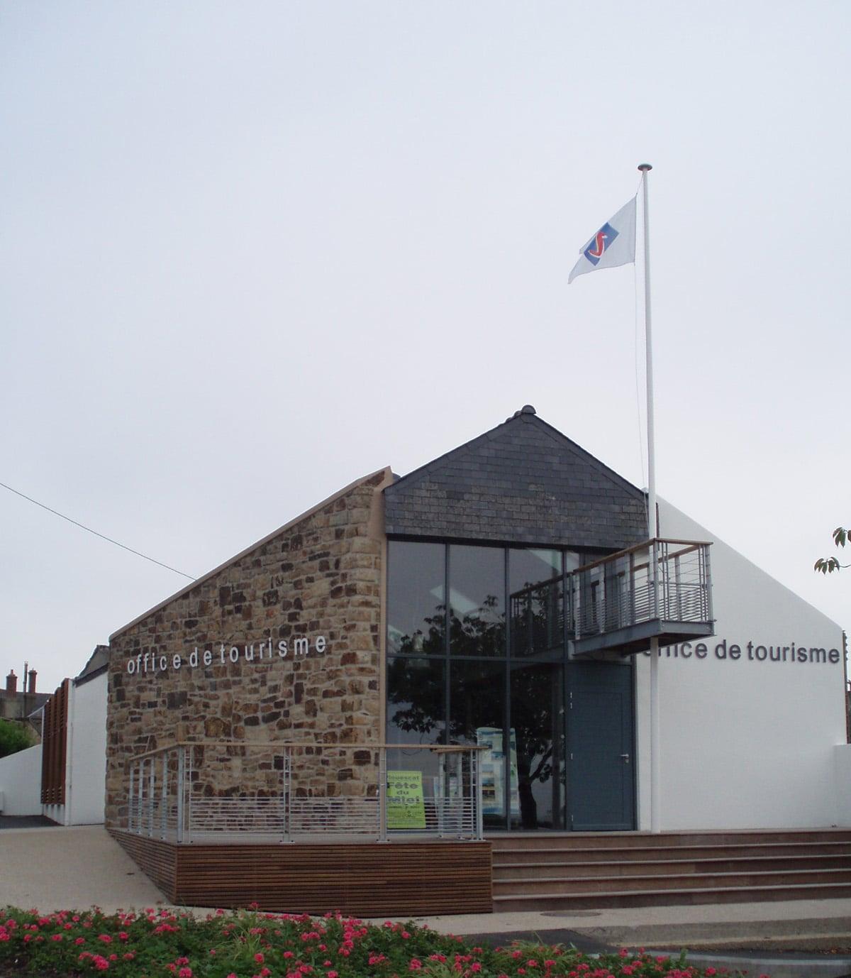 Maison du tourisme de plouescat martial architecte - Office tourisme plouescat ...